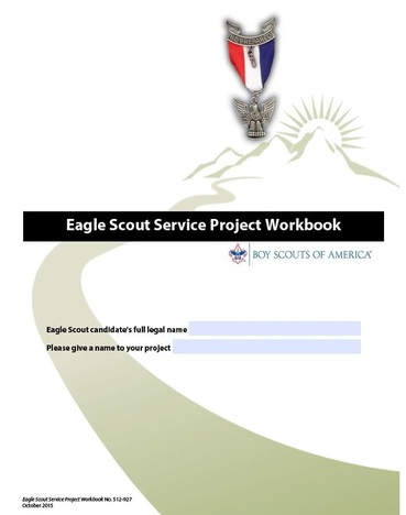 Eagle scout service project workbook